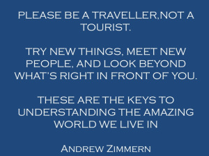 What Does it Mean to Travel Consciously?
