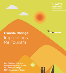 climate change implications for tourism cover