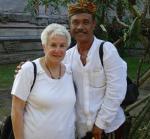 Agung Rai and Anna at ARMA